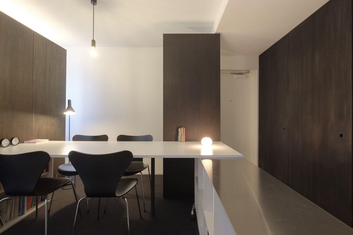 集合住宅の一画をリノベーションした オフィススペース